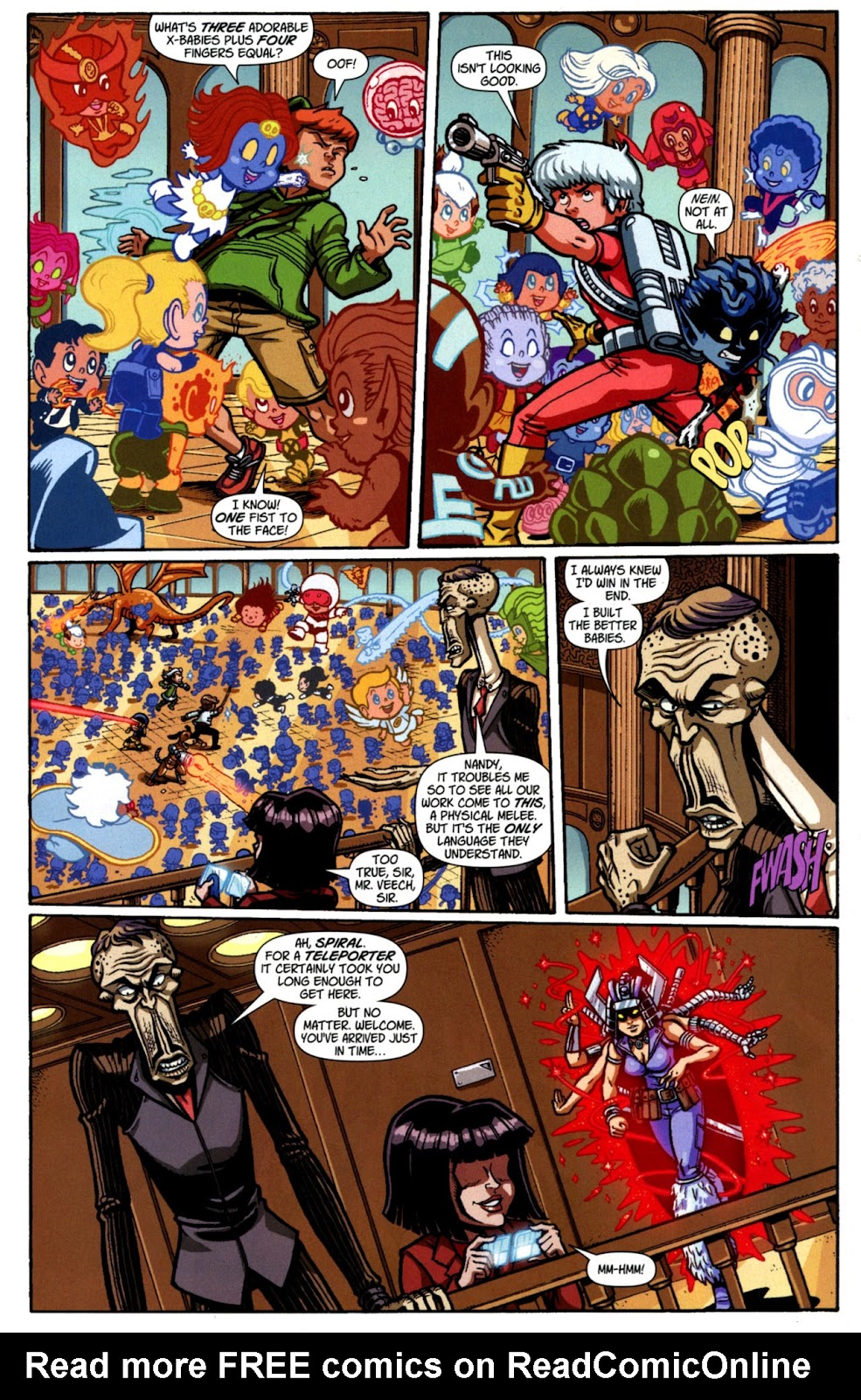 Read online X-Babies comic -  Issue #4 - 11