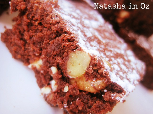 Double Chocolate Walnut Brownies, Recipe, Say G'Day Linky Party, Say G'day Saturday Linky Party,