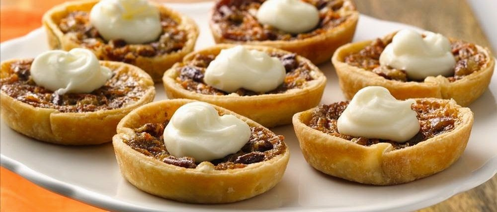 Miniature Coconut Pecan Tarts Recipe