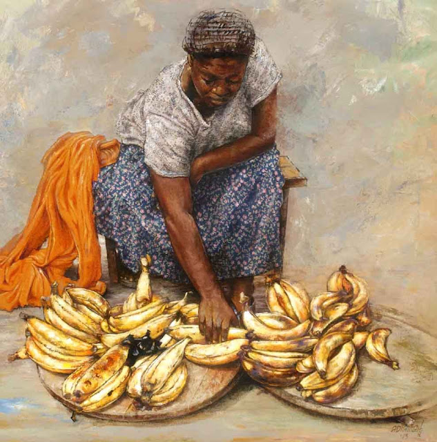 Art Peinture Afrique - Emmanuel Adiamah