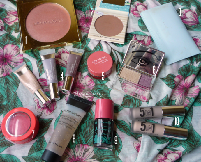 My Summer Beauty Essentials: 10 must-have Makeup Products I Can't Live Without