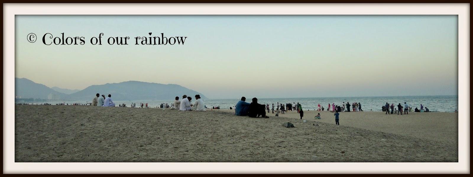 Khorfakkan beach @colorsofourrainbow.blogspot.ae