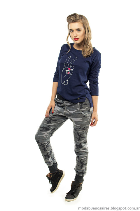 Ropa de mujer invierno 2015 Camaruco pantalones. Moda invierno 2015 mujer Argentina.