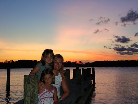 My girls and me at the river...