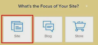 gambar 2 Cara Membuat Website Di Weebly