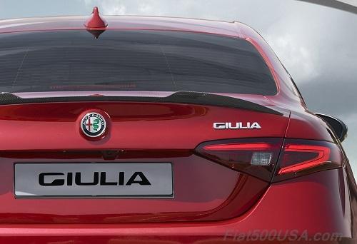 Alfa Romeo Giulia Quadrifoglio Tailight