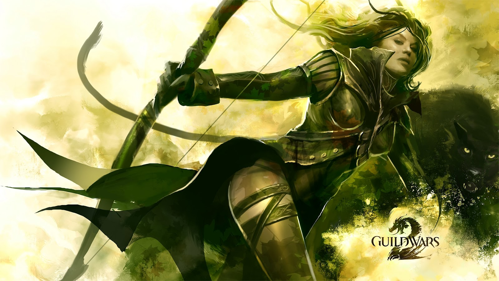 Forbidden Forest: Guild Wars 2 Wallpaper