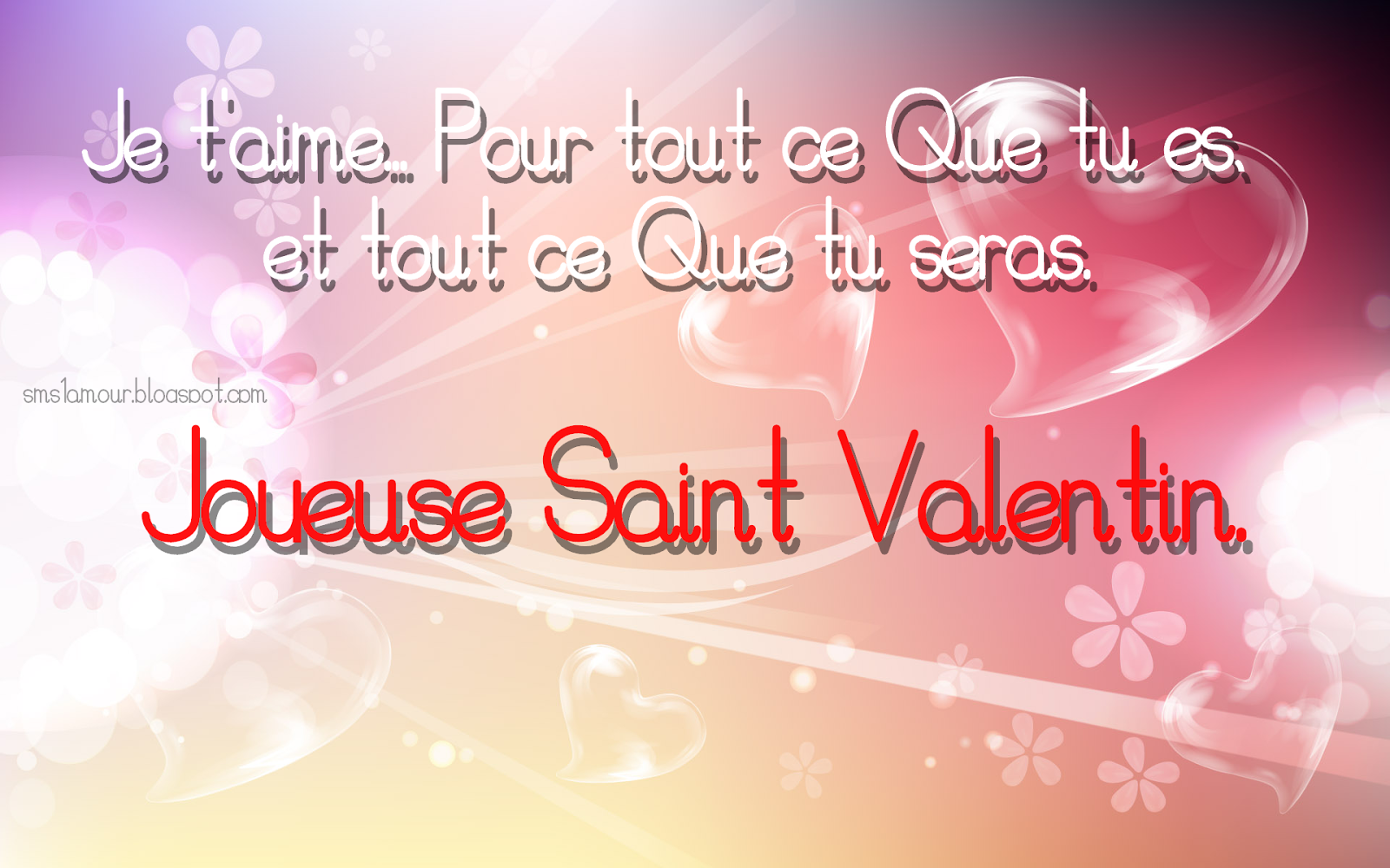 saint valentin 2015