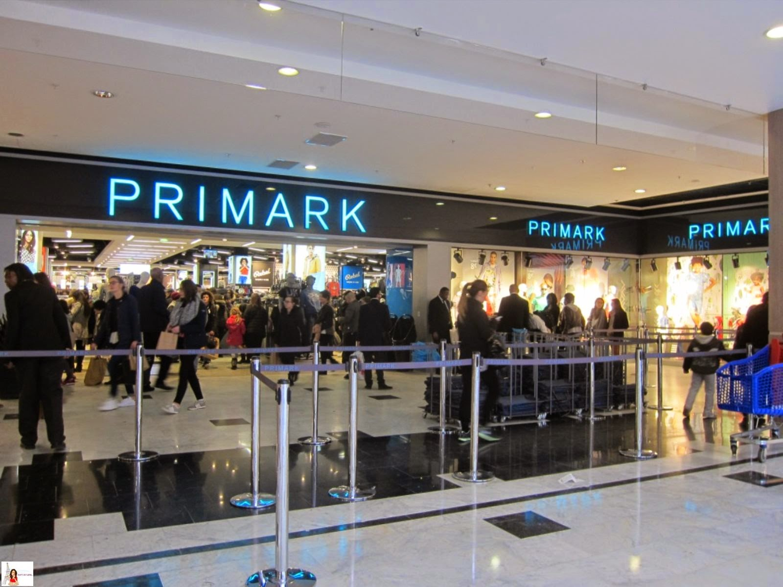 coley 39 s just saying primark now open in paris. Black Bedroom Furniture Sets. Home Design Ideas