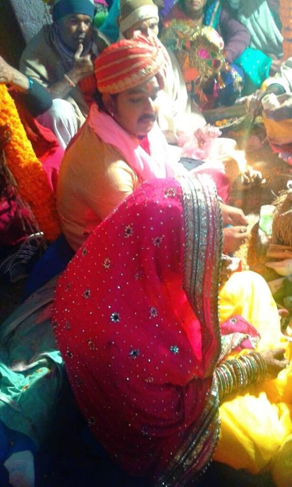 Pawan Singh and Neelam Wedding Ceremony photo