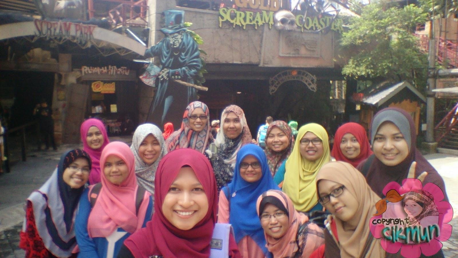 classtrip, sunway lagoon, sunway pyramid, HS245, citer mun~, jejalan, themepark, occupational therapy, cuti-cuti malaysia,