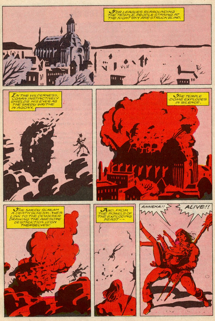 Conan the Barbarian (1970) Issue #194 #206 - English 19