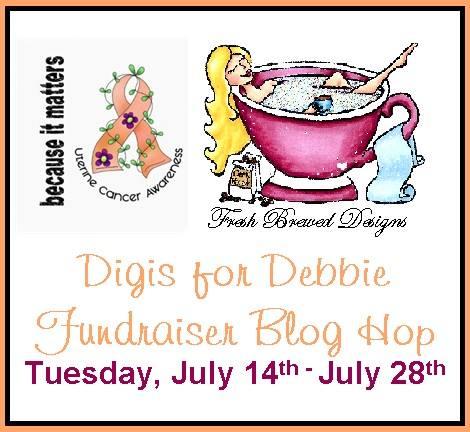 Digis For Debbie Fundraiser Blog Hop