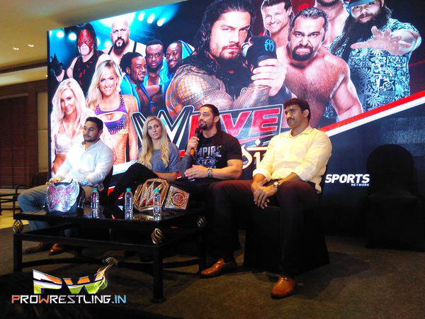 Photos: WWE Superstars In India - January 14, 2016 (Gallery)