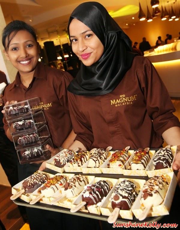 Magnum Café Kuala Lumpur, Magnum Kuala Lumpur, Magnum Cafe, Make My Magnum, Magnum ice cream