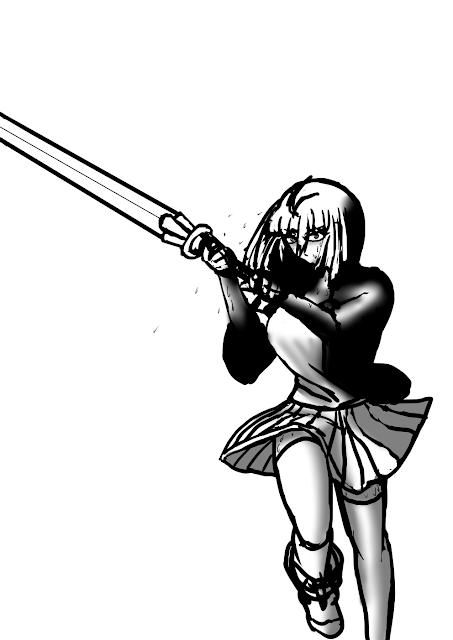 【ほっとする】武器など。【楓さんラクガキ】
