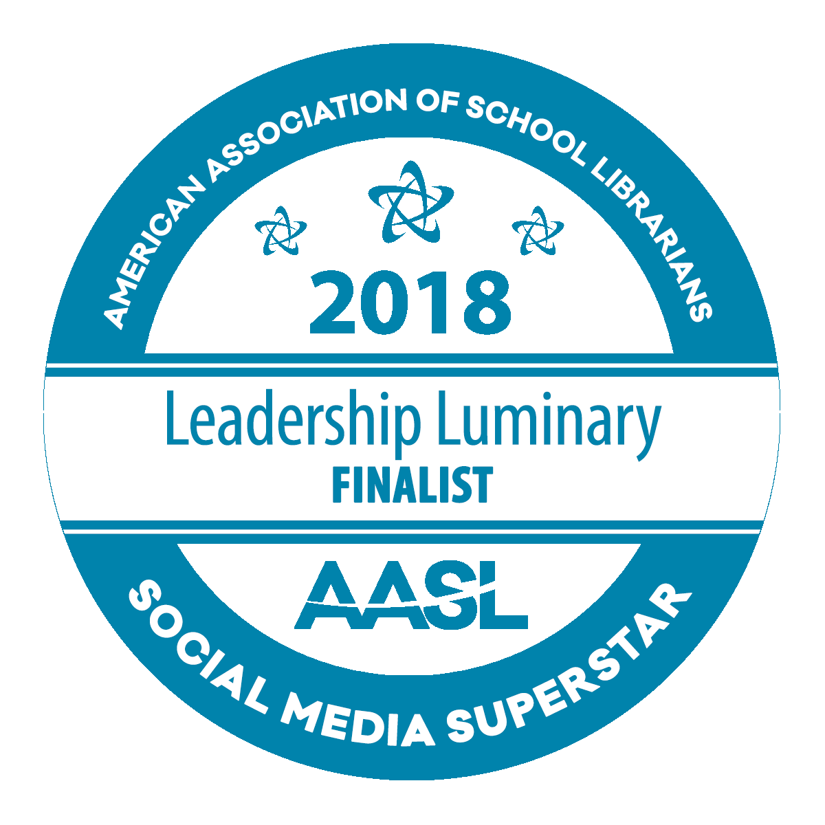 2018 AASL Social Media Superstar Finalist: Leadership Luminary
