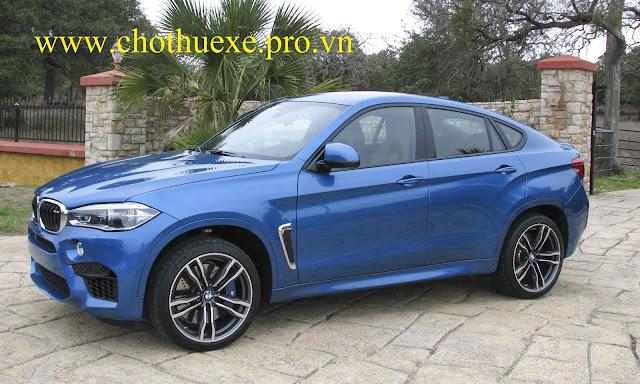 Cho thuê xe 4 chỗ BMW X6 hạng sang chất lượng