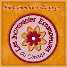 Membre des Incroyables Estampeuses du Canada