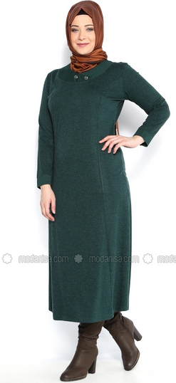 Model Baju Muslim untuk Tubuh Gemuk