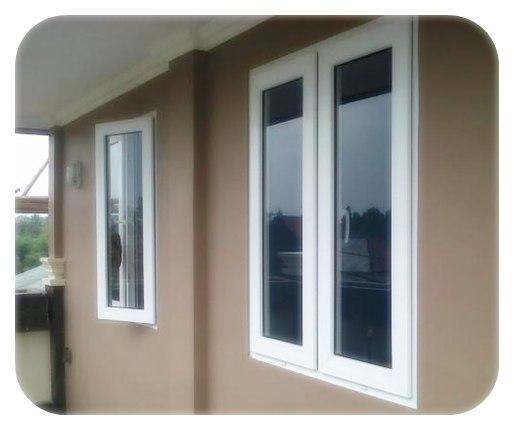 contoh pintu dan jendela utama rumah minimalis modern dan