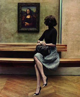 Elegant Woman Mona Lisa