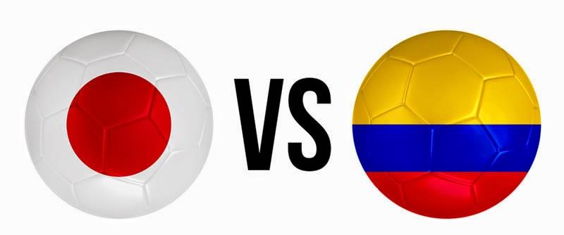 Japón (eliminada) 1 - 4 Colombia. Grupo C