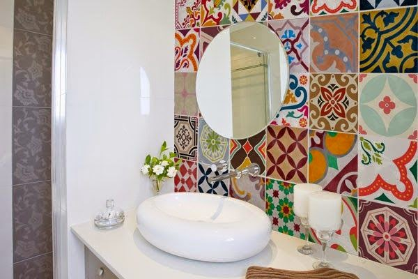 Azulejos Baño Originales: DUSCHOLUX: Da color a tu baño con los azulejos más originales