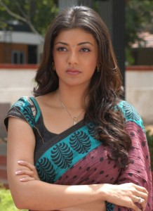 kajal agarwal saree hot