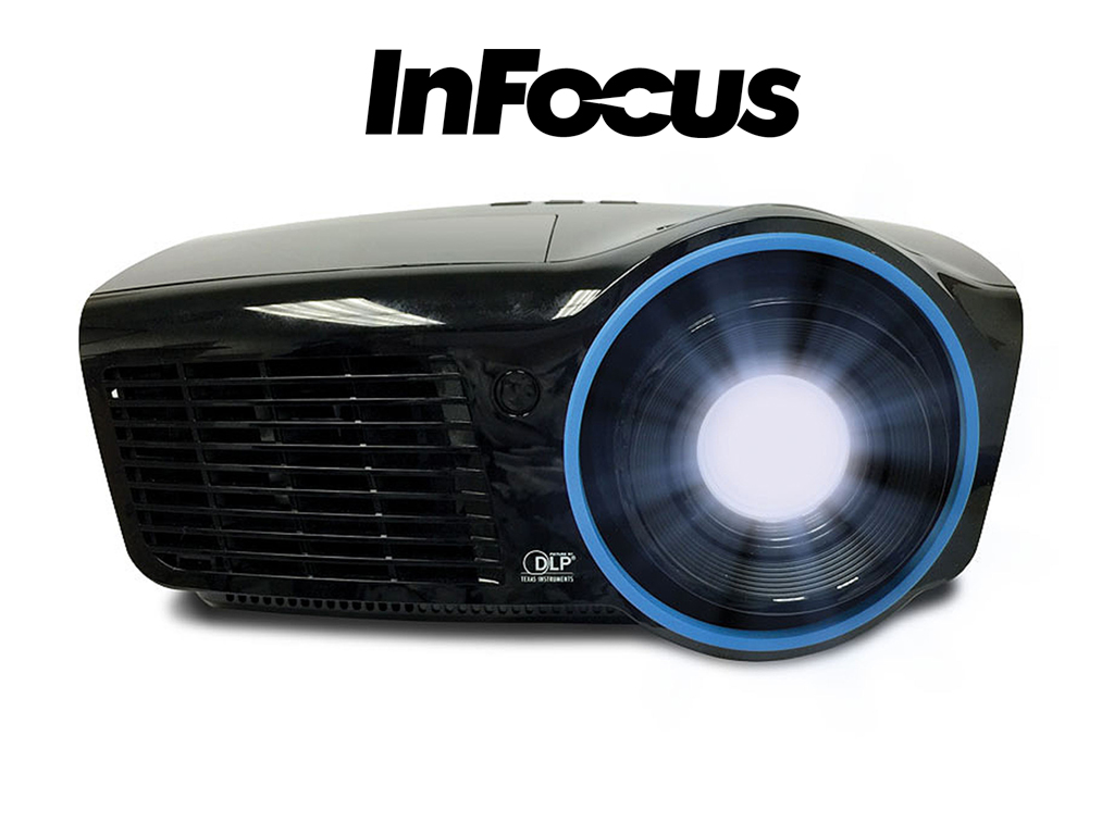 InFocus IN3134a: An Awesome 3D Network Projector