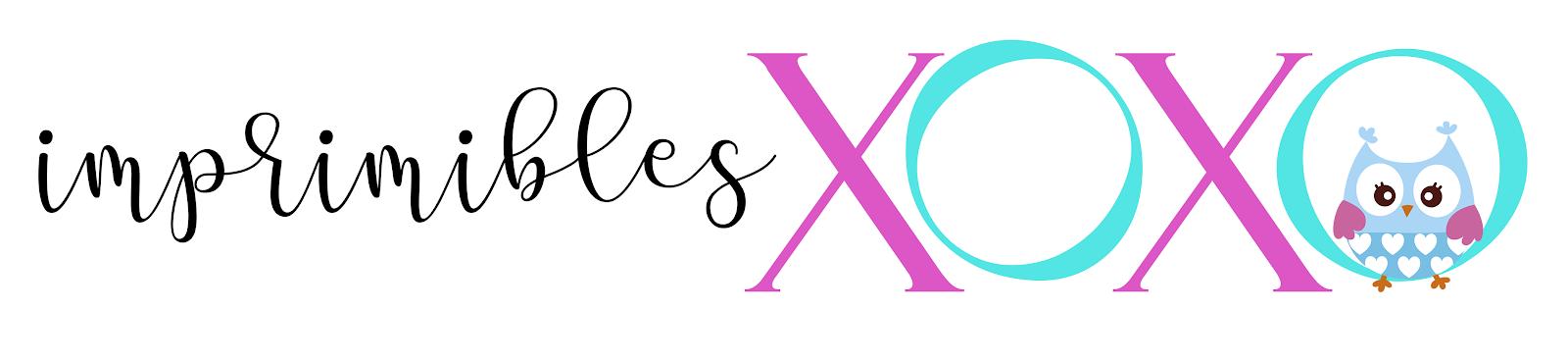Imprimible XOXO