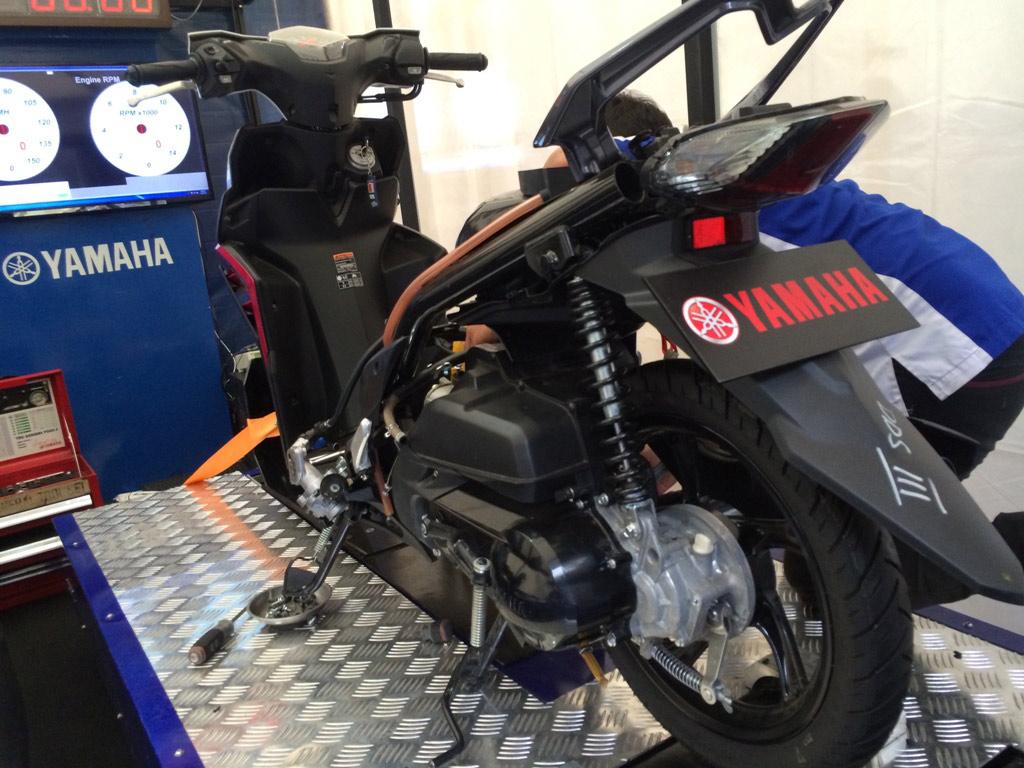 Yamaha Mio M3 pecahkan rekor MURI !