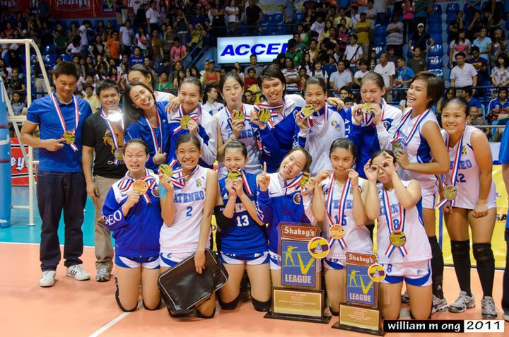 Ateneo Lady Eagles Volleyball Team