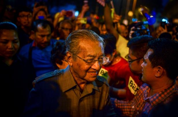 Tun Mahathir BERSIH 4.0