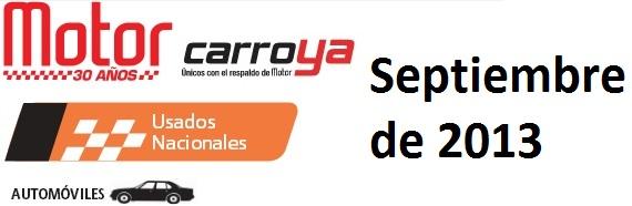 revista motor agosto+ 2013 septiembre+ 2013 octubre+ 2013 precios