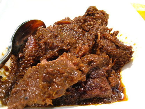 Rendang Is A Dish Which Originated From The West Sumatera Of Indonesia Rendang Is A Traditional Dish Using Coconut Milk And Beef As Main Ingredient And Is