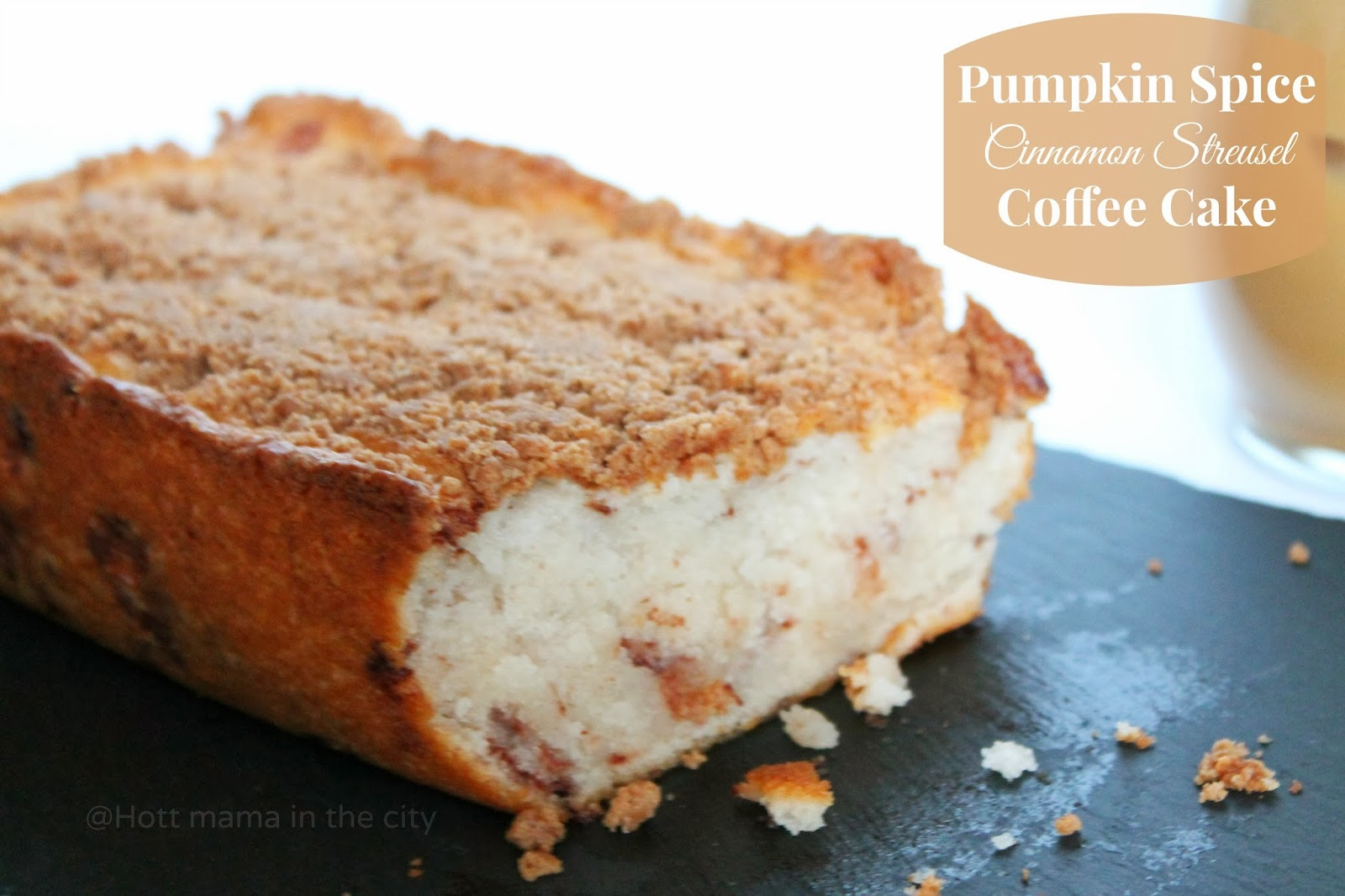 ... Pumpkin Spice Cinnamon Streusel Coffee Cake with Pumpkin Spice Coffee
