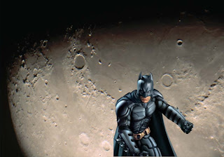 Batman Posters Wallpapers Batman Dark Knight Ready to Attack in the Moon Surface background