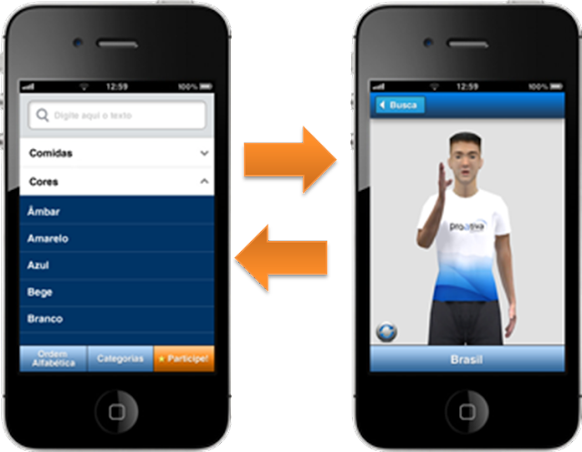 Aplicativo ProDeaf para celulares e tabletes permite a comunicação de surdos e deficientes auditivos
