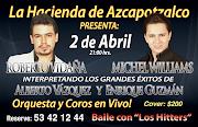 Sábado 2 de Abril 21:00 hrs. Cover $200. Reservaciones: 53 42 12 44 (de 2 a . show de abril