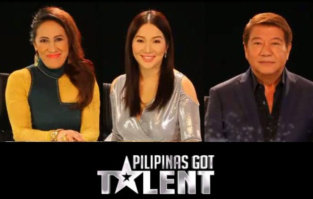 The BIG 3 judges of Pilipinas Got Talent