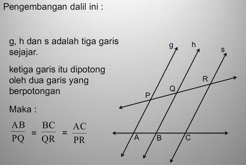 Matematika Di Sma Dalil Dalil Pada Segitiga