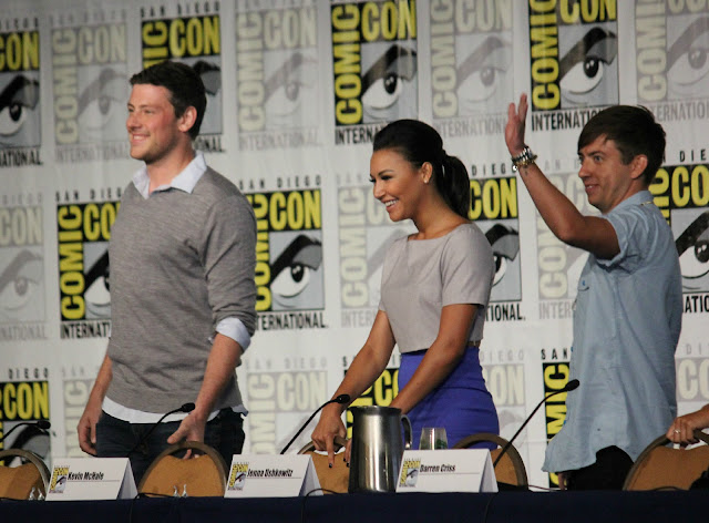 Glee Comic Con Panel video