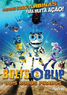 Download Bolts e Blip: Dois Robôs Pirados   Dublado