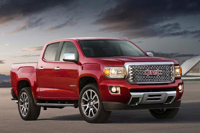 GMC Canyon Denali Crew Cab (2017) Front Side