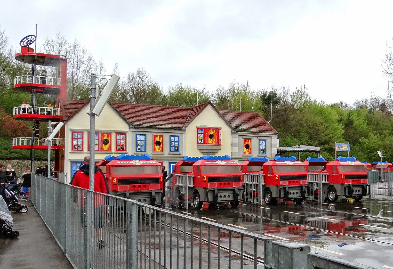 Legoland Windsor 2014, Legoland Windsor Easter, Legoland Windsor Fire Academy