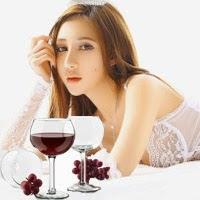 Xóa nếp nhăn từ rượu vang hiệu quả nhất