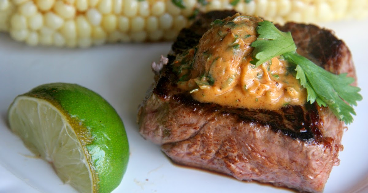 Look Who's Cookin' Now: Lime Grilled Steak with Smokey Cilantro Butter