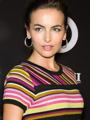 Camilla Belle Diamond Hoop Earrings