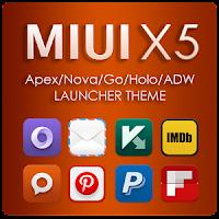 MIUI X5 HD Apex/Nova/ADW Theme apk